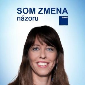 SDKÚ-DS a jej členka Oráčová je ZMENA - ZMENA NÁZORU